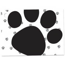 Polka dot card