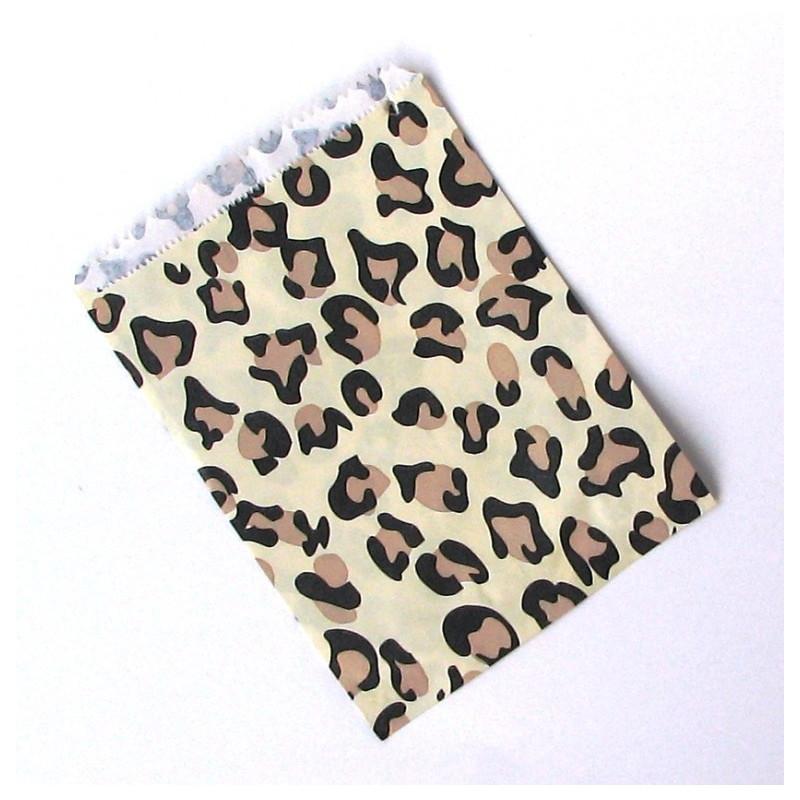 Large leopard bag