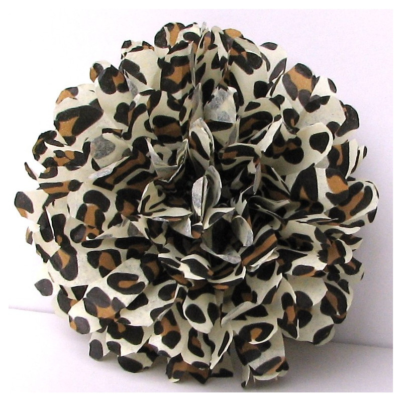 Pawprint white ribbon
