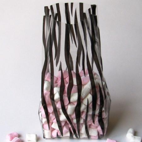 Medium zebra cello bag