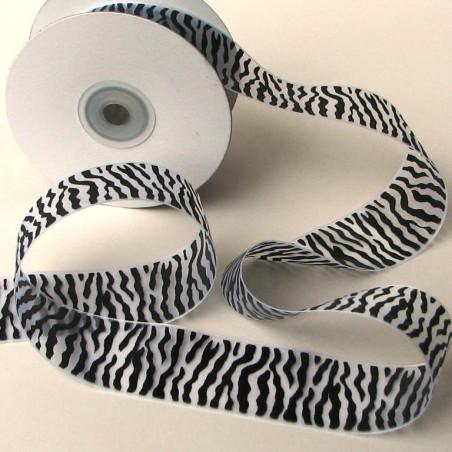 Zebra sheer ribbon