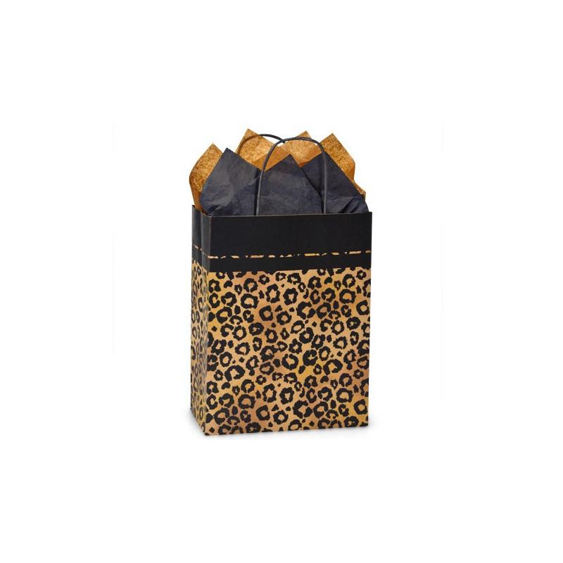 Leopard gift bag