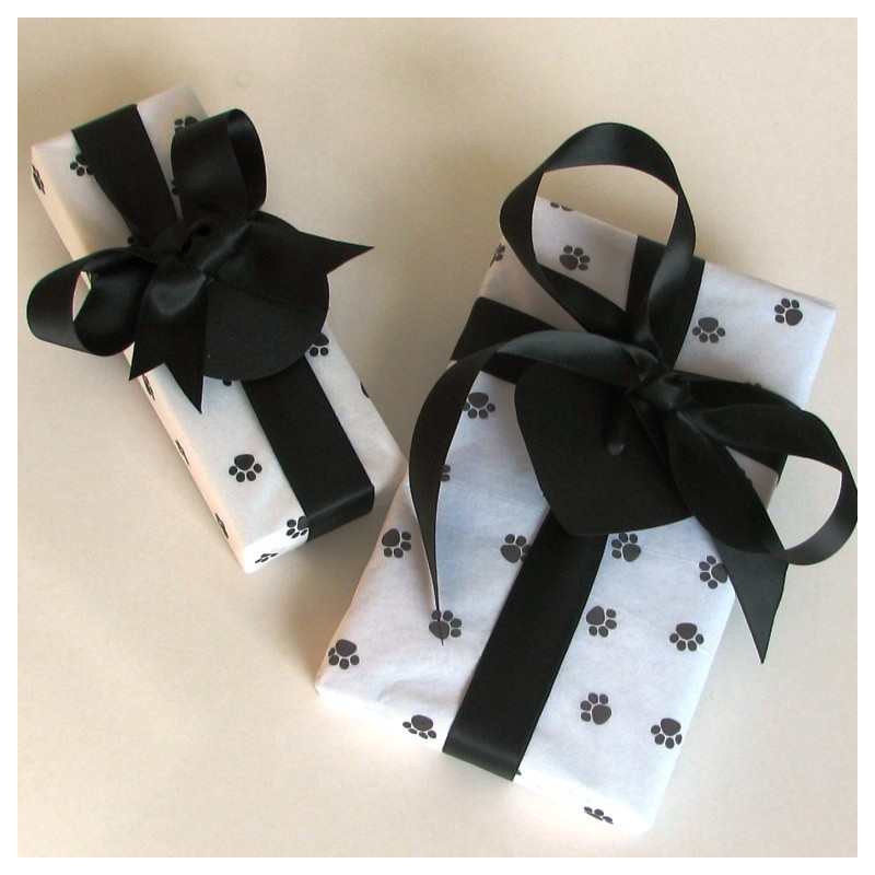 Paw print gift pack