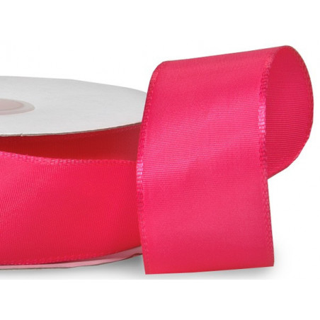 Hot pink wired ribbon