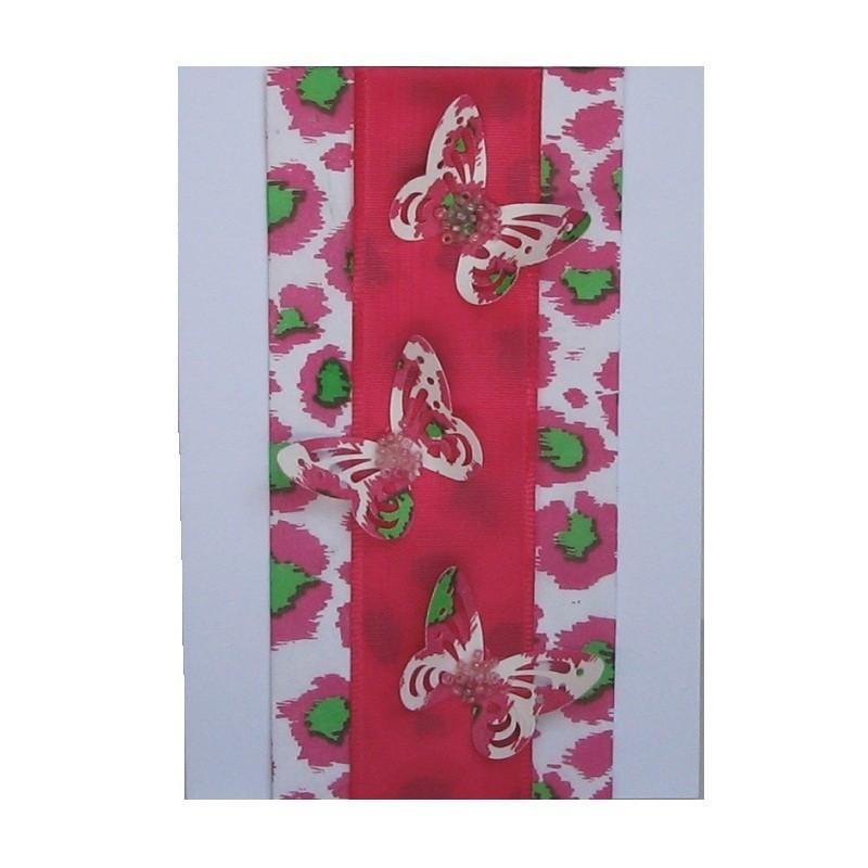 Pink Leopard card