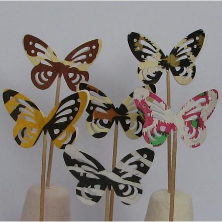Butterfly cake topper