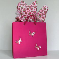 Pink Leopard Gift Bag