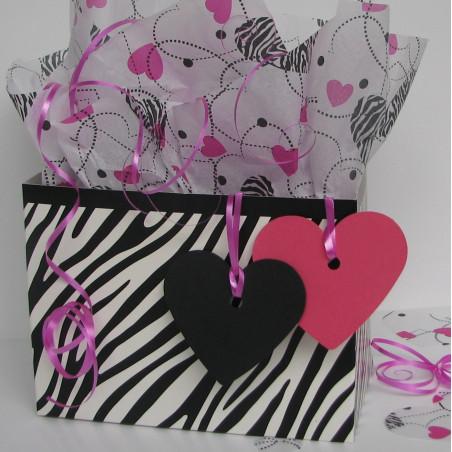 Zebra basket box