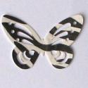 Paw print sheer ribbon