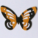 Satin Pawprint ribbon