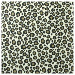 Gold leopard tissue