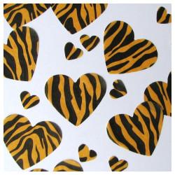 Tiger table confetti