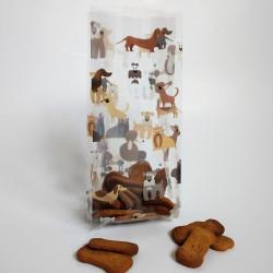 Fancy dogs cello bag